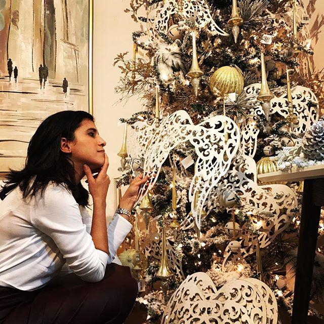 arreglo navideno en salones color blanco 2018