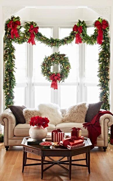 arreglo navideno en ventana 2018 3