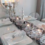 arreglos navidenos para comedores en plata 2018 4