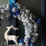 arreglos navidenos para puertas en azul cobalto 2018