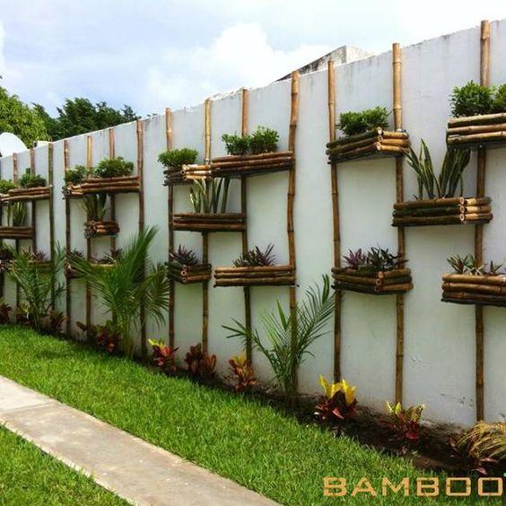 Bardas modernas para patios 3 decoracion de interiores for Adornos para patios de casas