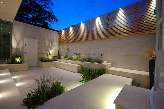Bardas modernas para patios 4 - Patios de casas modernas ...