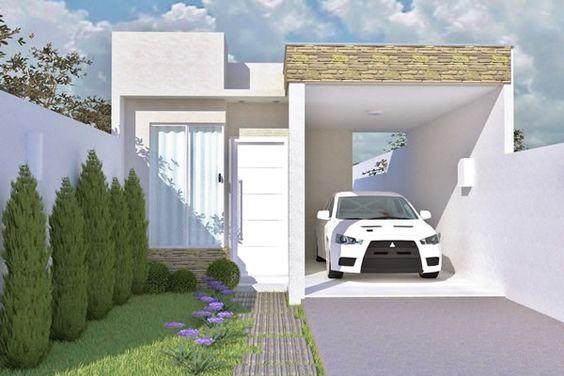 Bardas para casas pequenas 6 Estilos de fachadas para casas pequenas