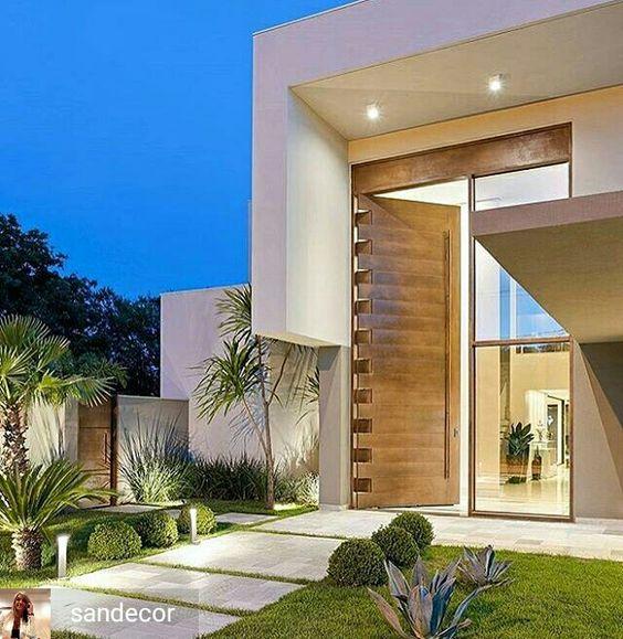 Bardas para fachadas de casas minimalistas 4 decoracion Pisos modernos para casas minimalistas