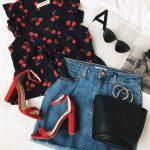 Blusas estampadas de moda