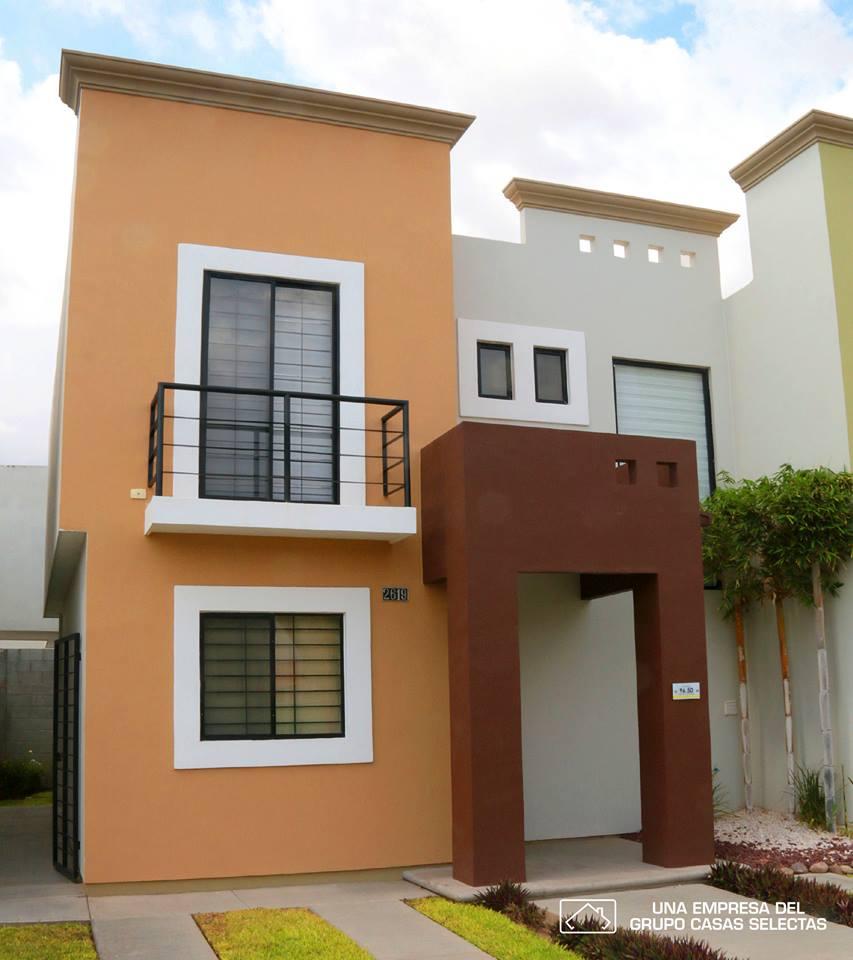 Casa de dos pisos con 3 recamaras tipo infonavit for Fachadas de casas modernas pequenas de infonavit