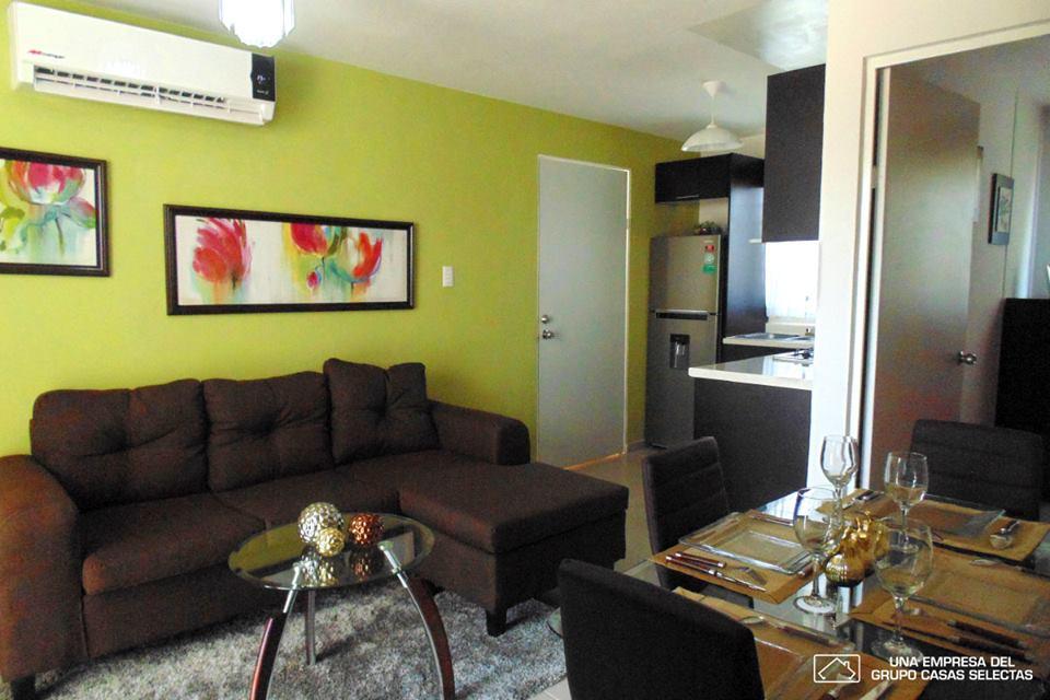 Casa de infonavit sencilla amueblada 2 decoracion de for Decoracion para casas pequenas sencillas
