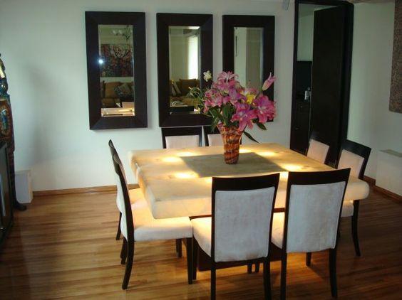 centro de mesa comedor clasico 3