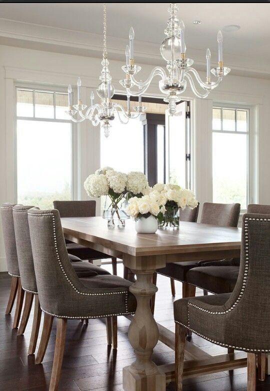 centro de mesa comedor clasico | Como Organizar la Casa | Fachadas ...