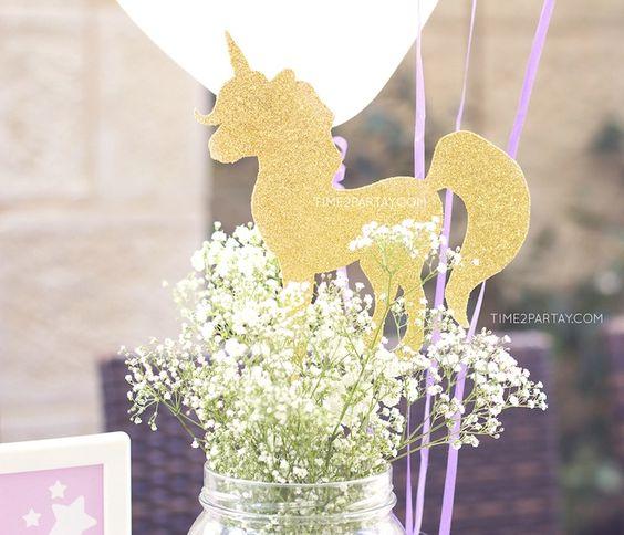 centro de mesa de unicornios (2)