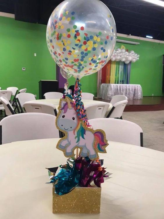 centro de mesa de unicornios (3)