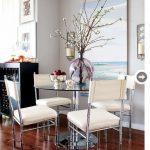 centros de mesa modernos para el comedor