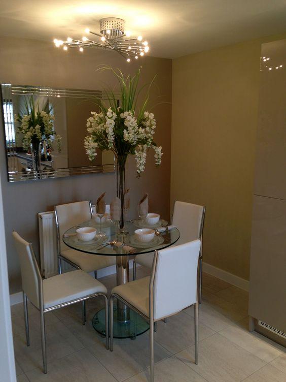 Centros de mesa para comedor decoracion de interiores for Centros de mesa para casa