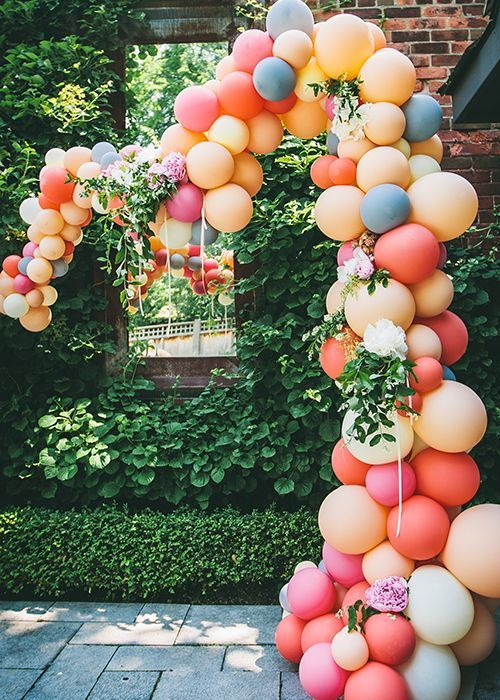 colores de moda para decorar fiestas melocoton o peach (4)