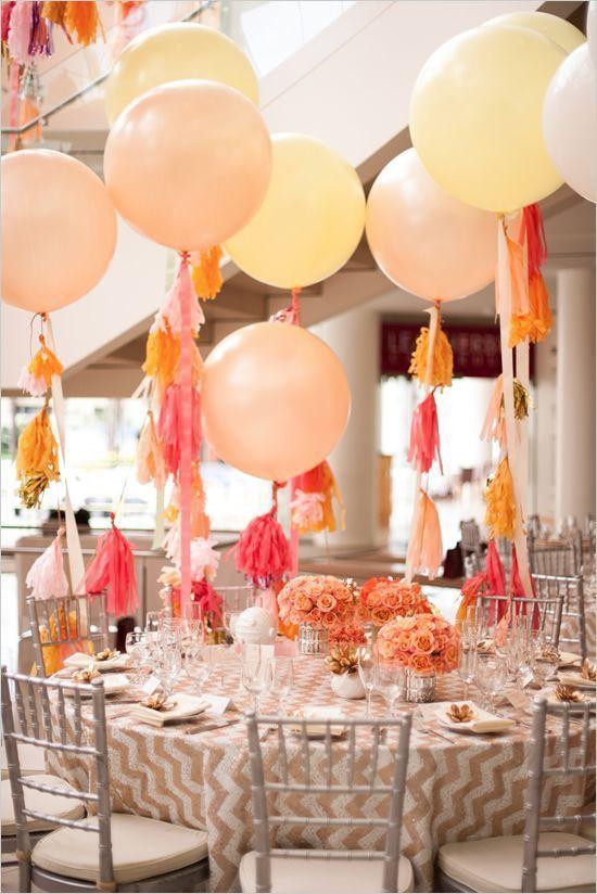 colores de moda para decorar fiestas melocoton o peach (5)