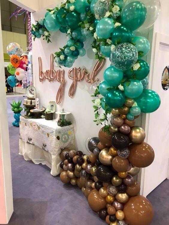 Colores para decorar baby showers