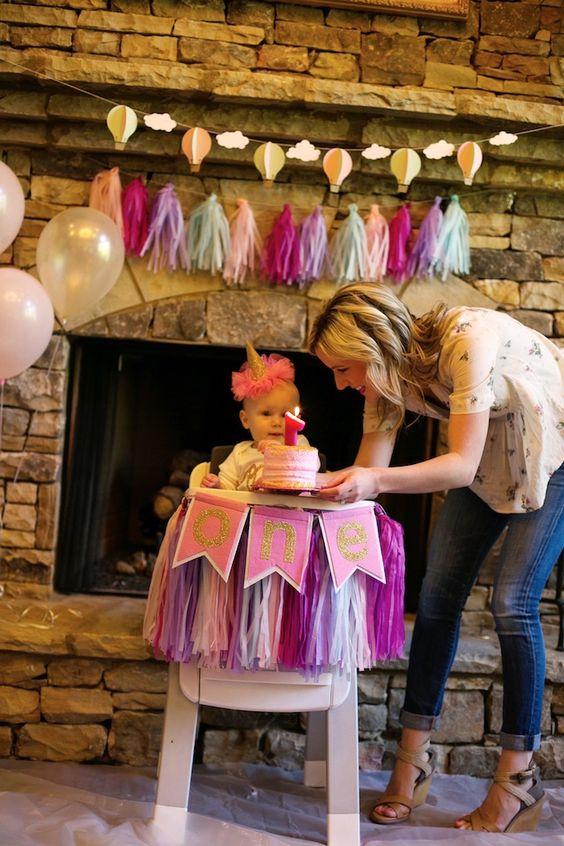 como celebrar el prime ano de tu hija