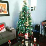 como decorar una casa de infonavit esta navidad (3)