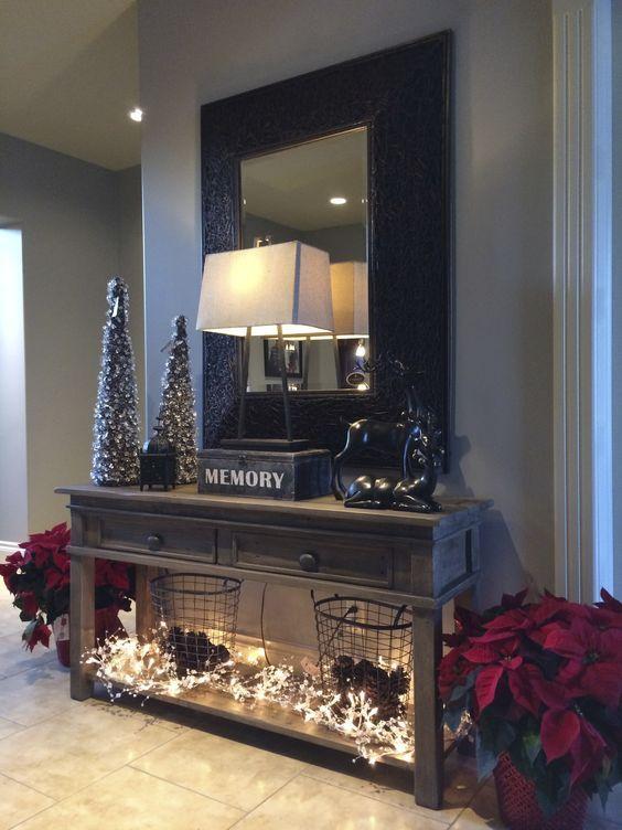 como decorar una casa de infonavit esta navidad (5)