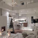 como decorar una sala pequena en navidad (1)