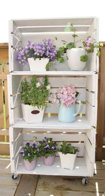 como hacer repisas para plantas exteriores (2)