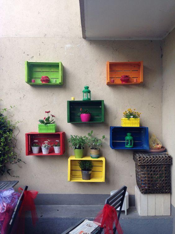 como hacer repisas para plantas exteriores (4)