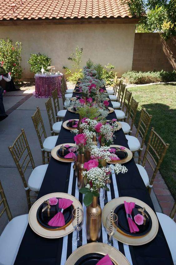 15 a os elegantes ideas para una fiesta de xv a os elegante for Adornos para salon de casa