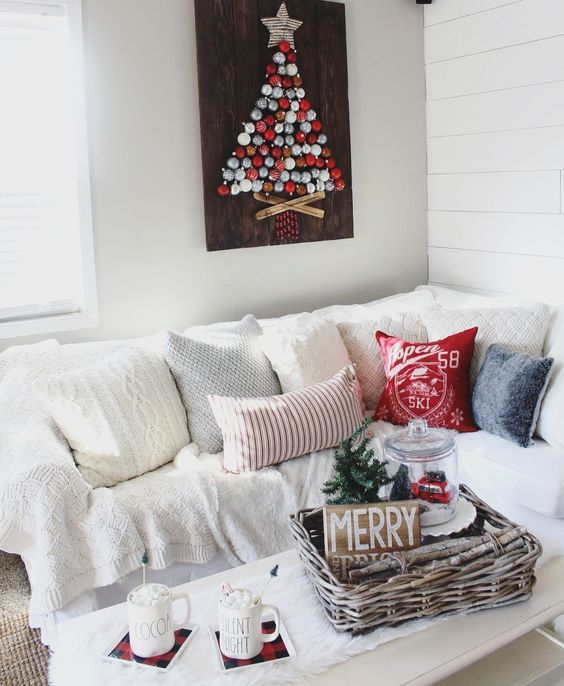 decoracion de casa de infonavit para navidad sin gastar mucho dinero
