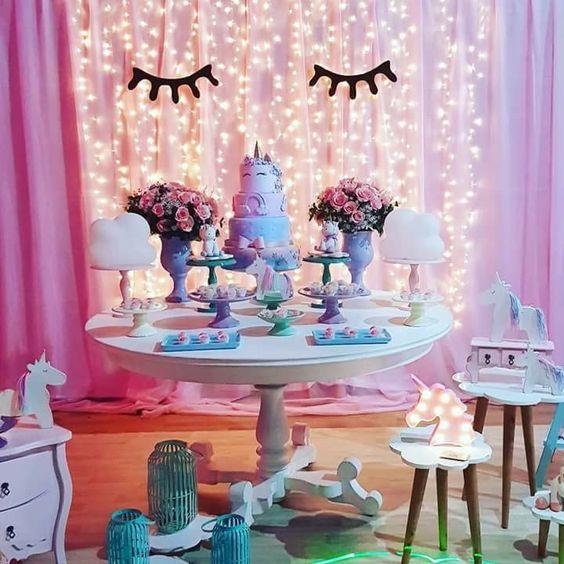 decoracion de cumpleanos de unicornios (3)