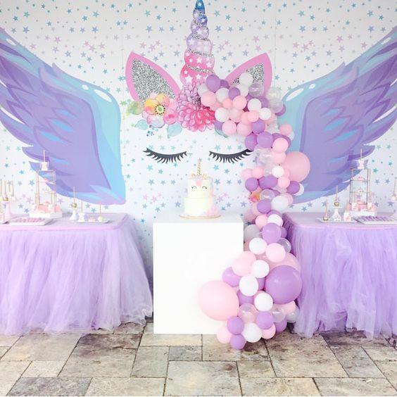 decoracion de cumpleanos de unicornios (7)