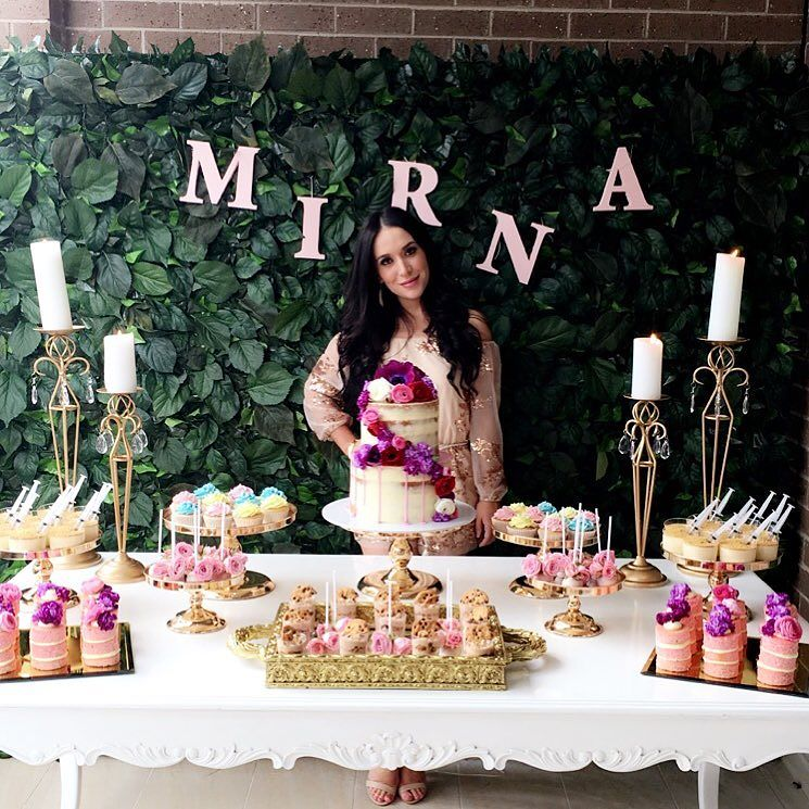 decoracion de fiestas 2018 rosa fucsia 2