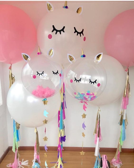 Decoracion de unicornio