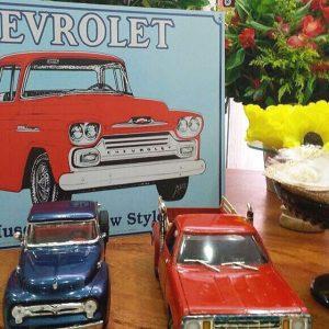 decoracion fiesta hombre tema carros clasicos (2)