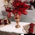 decoracion navidena en color rojo para casas de infonavit (4)