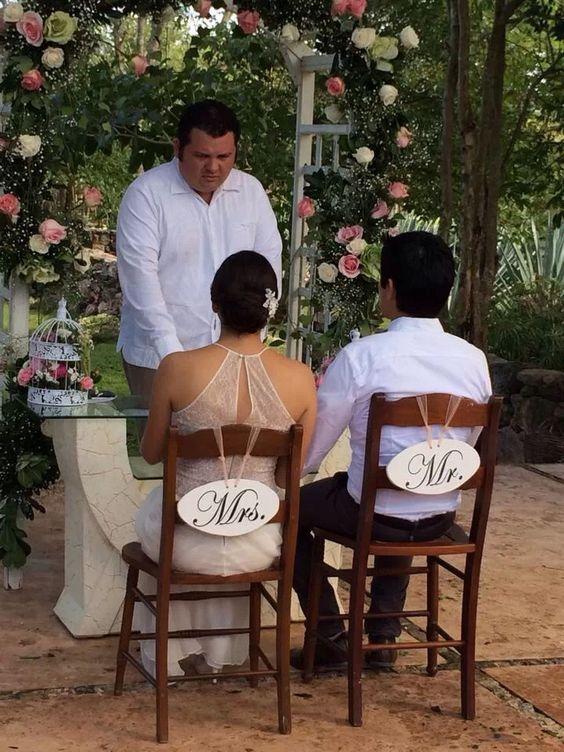 decoracion para matrimonio civil en casa