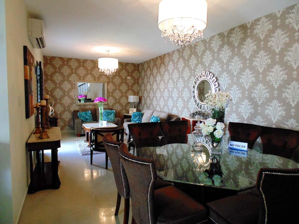 decoracion sala y comedor casa infonavit