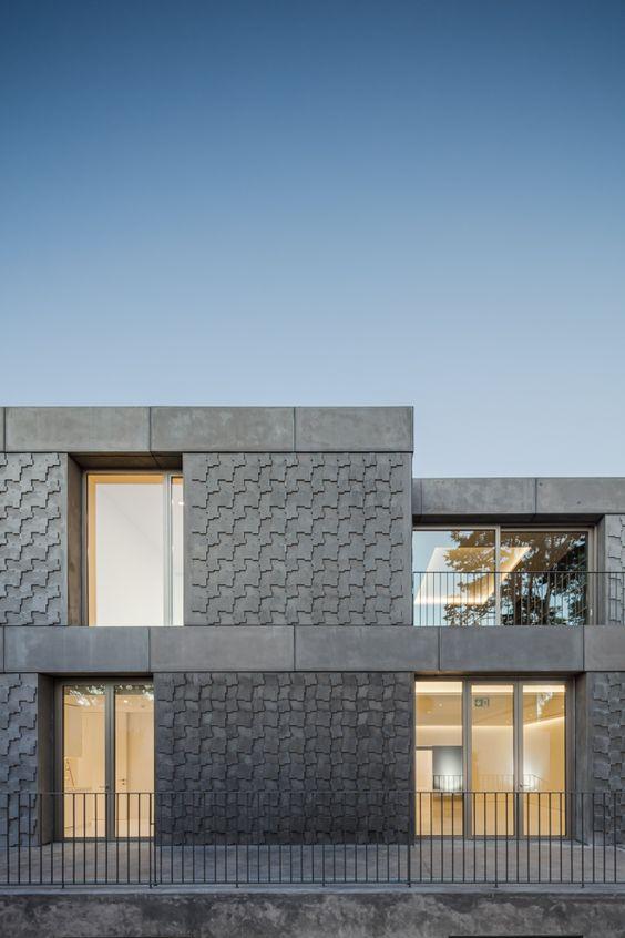 diseno de bardas de block modernas 4