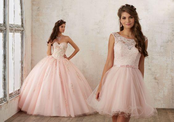 Donde comprar vestidos de XV años desmontables