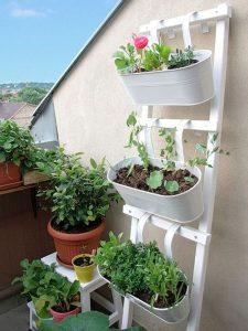 Estantes para plantas exteriores
