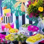 fiesta de cumpleanos 25 mujer tema tropical (1)