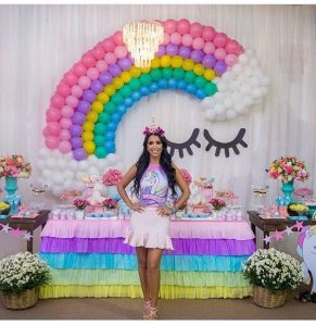 fiesta de unicornio para adolescentes