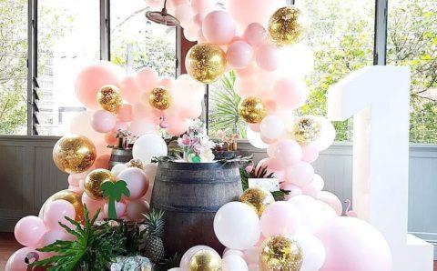 fiesta primer año de tu hija