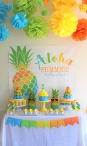 fiesta tropical para adolescentes