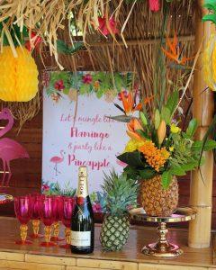 fiesta tropical para mujer celebracion 25 anos