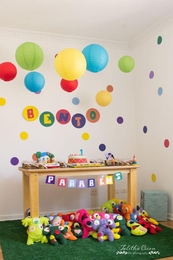 fiestas infantiles sencillas en casa