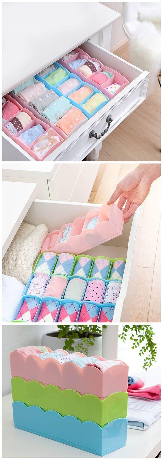 como organizar lenceria