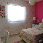 habitacion pequena de nina casa infonavit