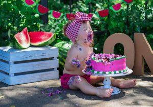 ideas de sesion de fotos para primer ano nina (6)