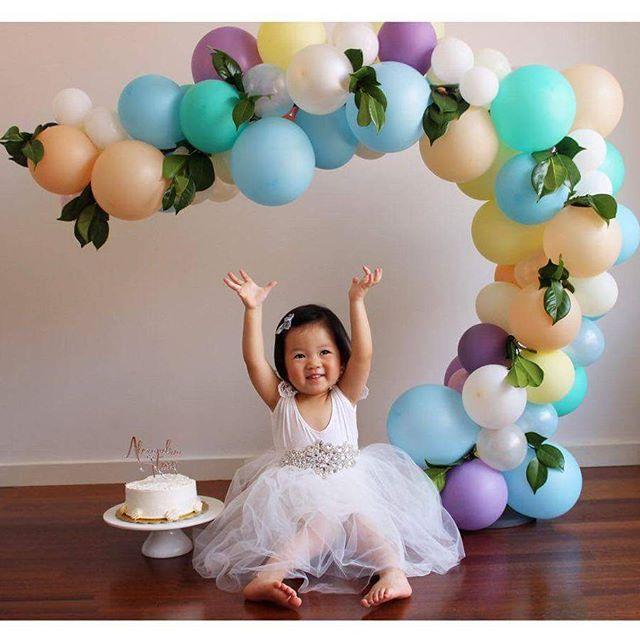 ideas de sesion de fotos para primera ano de nina (1)