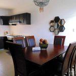 ideas para decorar cocina y comedor juntos en espacio pequeno